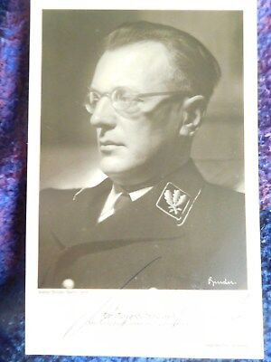 A Seyss-Inquart Austrian Nazi gave Austria to Hitler Excellent signed photograph
