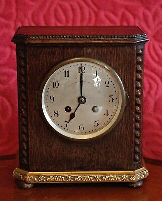 Vintage German 'Junghans' 8-Day Striking Mantel Clock