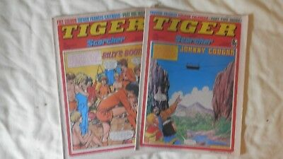 TIGER and SCORCHER 2 issues (1978)
