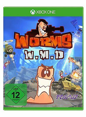 Worms - Weapons of Mass Destruction (W.M.D.) - XBOX ONE - *Neu*