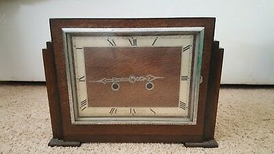 Vintage James Walker London Mantel Clock