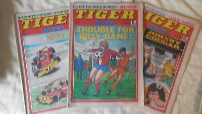 TIGER and SCORCHER 3 issues (1978)
