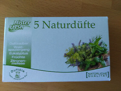 5 Naturdüfte Mister Fresh