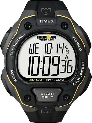 Timex Ironman T5K494, Over size 50 Lap Sports Watch with, Indiglo Night Light