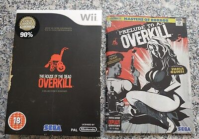 The House Of The Dead Overkill - Wii - Collector's Edition Inhalte (ohne Spiel)