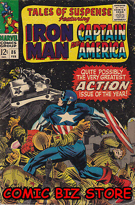 Tales Of Suspense #86 (1966) 1St Printing Silver Age Marvel Vg+ 4.5