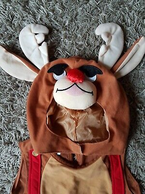 Reindeer fancy dress one size (fits 1-3 years)