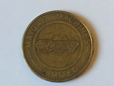 Maygay Machines Limited Token 10p
