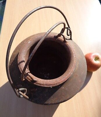 Vintage GLUE POT (Consists of Two Metal Pots) - Would Make Ideal CANDLE HOLDER