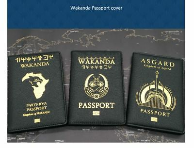 [Marvel] - King of WAKANDA Passport Case Cover
