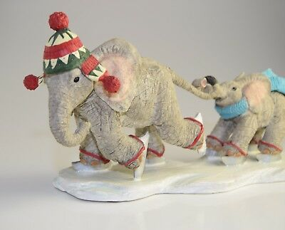 Tuskers Elephants Rare Retired Hold On Tight CA91435