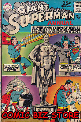 Superman Annual #7 (1963) Silver Age Dc 1St Printing Vn+ 4.5 Bagged & Boarded