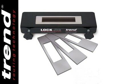 TREND LOCK/JIG ADJUSTABLE LOCK JIG BRAND NEW (box has been opened)