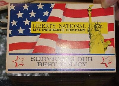 1- Vintage Advertising Needle Pack Book Life & Casualty Insurance Company