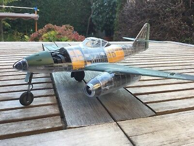 Trumpeter ME 262 Clear Edition Gebaut.