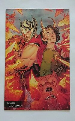 Thor #2 Russell Dauterman Young Guns full art Variant. New bagged and boarded