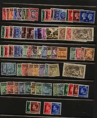 Great  Britain     Morocco   nice  lot of  stamps