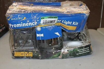 Malibu Prominence Led Solar Pathway Accent Light Kit Missing Spotlights Bat