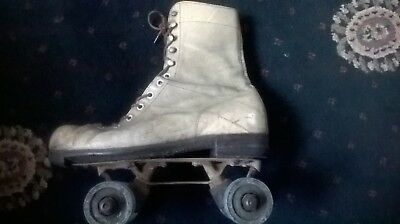 vintage Gloria special roller boots cream in color in working order