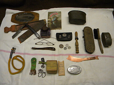 Lot vie courante poilu 14/18 WW1 adrian item french personal soldier piou