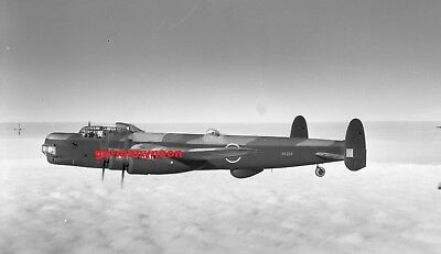 RAF.,  AVRO LINCOLN.,  RE228,  c1944,  LARGE ORIGINAL NEGATIVE & PHOTO   (035)