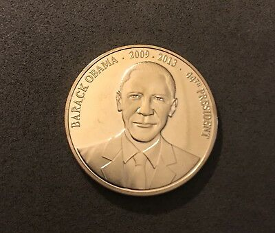 Barack Obama Gold Plated Coin US MINT, 44th President