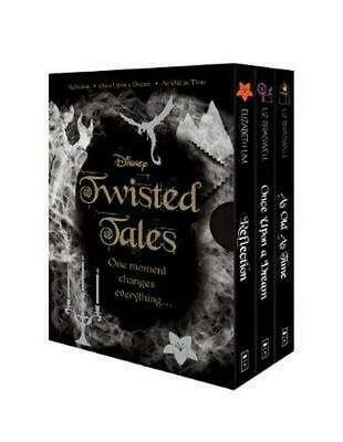 Disney: Twisted Tales Boxed Set Paperback Book Free Shipping!