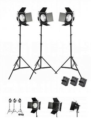 Pixapro LED380 Three Head Photo/Video Continuous lighting Kit