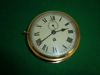 Vintage Smiths Astral 7 Jewel Ships Bulkhead Clock