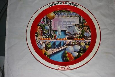 Vintage Coca Cola Tray From 1982 World's Fair