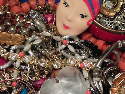 Estate Sale Lot Of Vintage-Now Jewelry #717, Some Signed, Untested