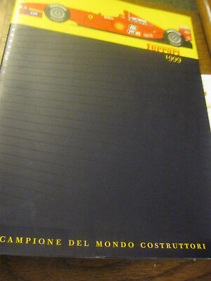 Original 1999 Ferrari Yearbook Oversized Thick Softcover
