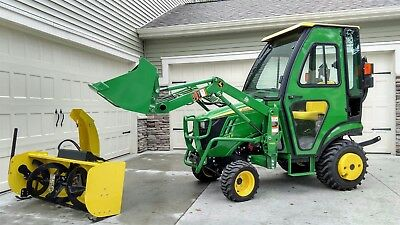 2014 John Deere 1025r with Heated Cab