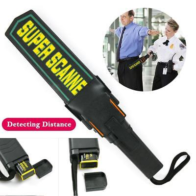 Portable Hand-held Security Detector Scanner Test Wand Airport Scanner MD-3003B1