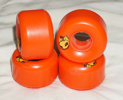 neu! OJ KEYFRAME 54mm 87A WHEELS ORANGE Cruiser Filmer Skateboard Rollen