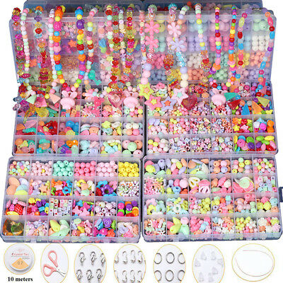 500pcs DIY Art Crafts Pop Beads Set Creative Jewelry Kit Gift Toys For Kids New