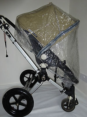 New RAINCOVER Zipped to fit Bugaboo Frog Carrycot & Pushchair Seat Unit
