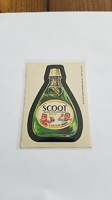 1976 Topps Wacky Packages Original 16th Series 16 SCOOT