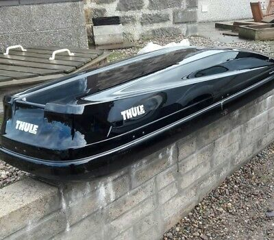 thule touring alpine 700 roof box picclick uk. Black Bedroom Furniture Sets. Home Design Ideas