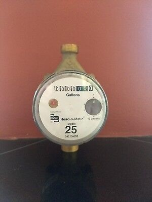 Badger 25 Water Meter Pulse With Remote