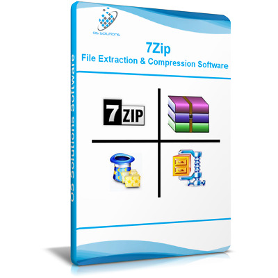 7Zip - Windows File Archive Compression. Compatible WinZIP WinRAR ZIP UNZIP RAR