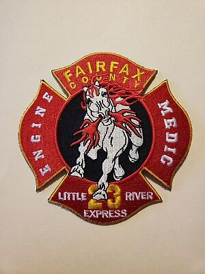 Fairfax County Fire Department Patch Station 23