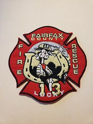 Fairfax County Fire Department Patch Station 13