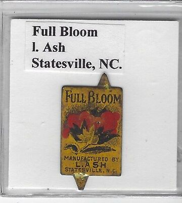 Tobacco Tag I. Ash Co. Statesville, NC. Full Bloom #2