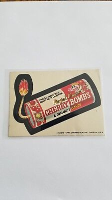 1976 Topps Wacky Packages Original 16th Series 16 CHERRYBOMB