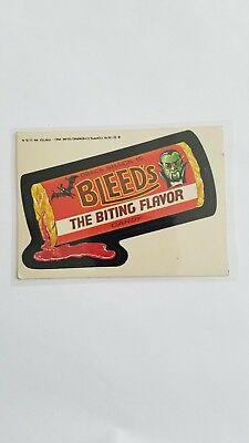 1976 Topps Wacky Packages Original 16th Series 16 BLEEDS