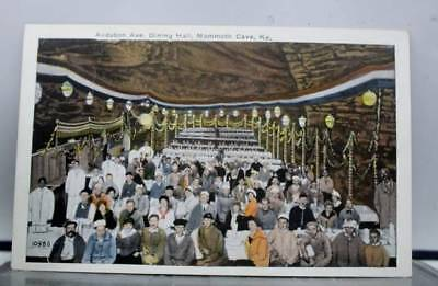 Kentucky KY Mammoth Cave Audubon Ave Dining Hall Postcard Old Vintage Card View