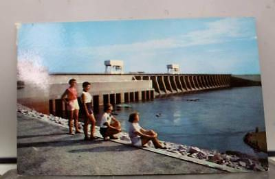 Kentucky KY Lake Dam Tennessee River Postcard Old Vintage Card View Standard PC