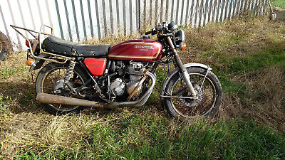Honda CB400 four barn find
