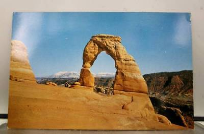 Utah UT Arches National Monument Delicate Arch Postcard Old Vintage Card View PC